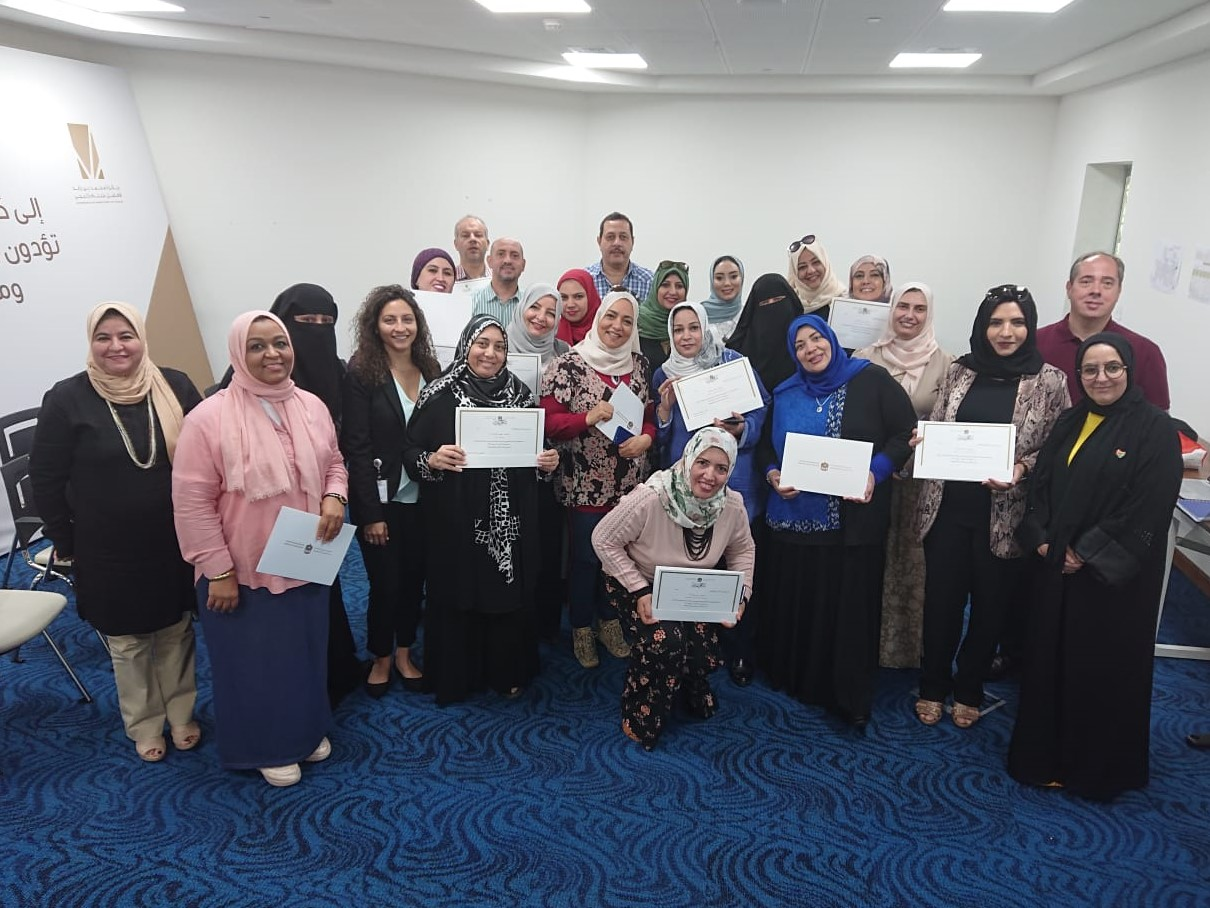 Chorleiterworkshop in Dubai, Gruppenfoto September 2019 © INTERKULTUR