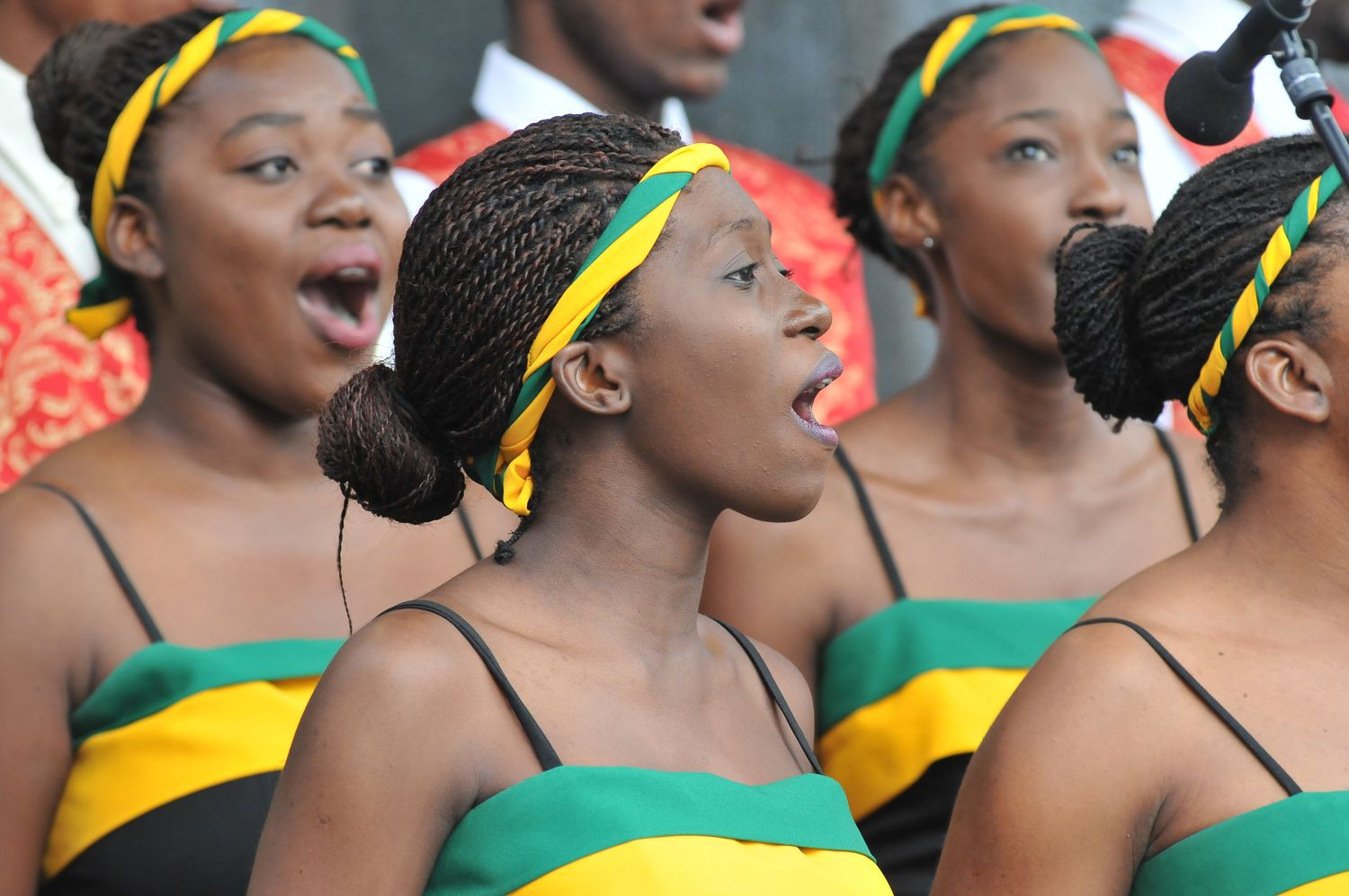 Jamaican Choir performs
