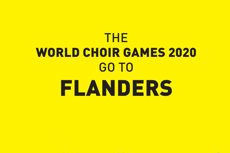 11th World Choir Games 2020 to be held in Flanders: INTERKULTUR