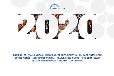 New Year's Greeting 2020 © INTERKULTUR