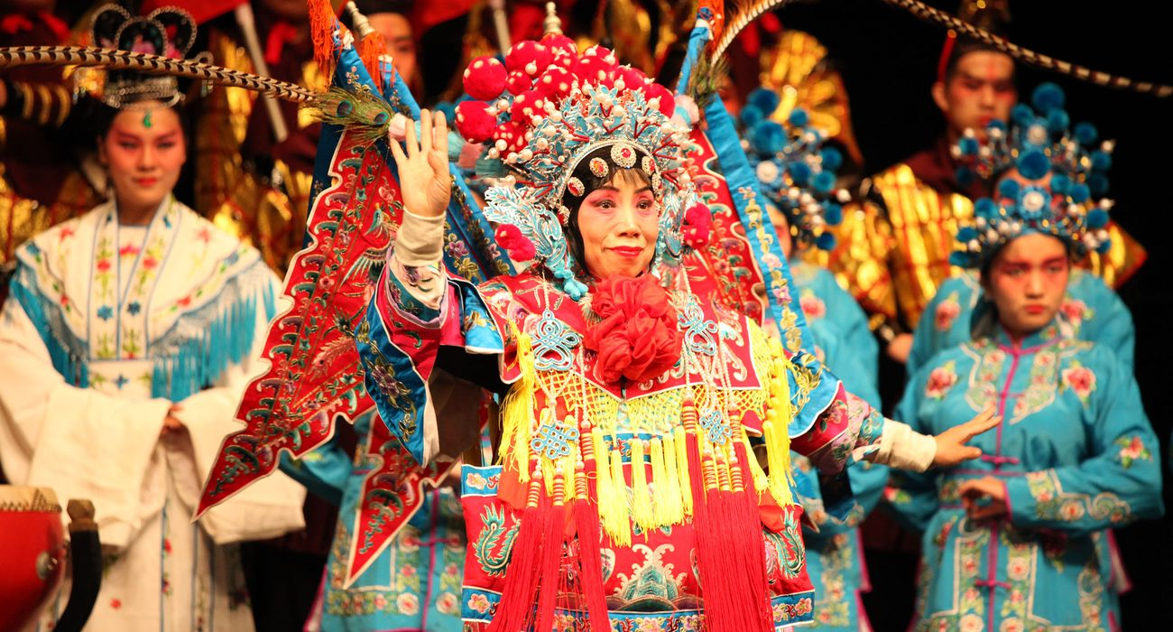 Choir from China performing in Folklore category © Studi43