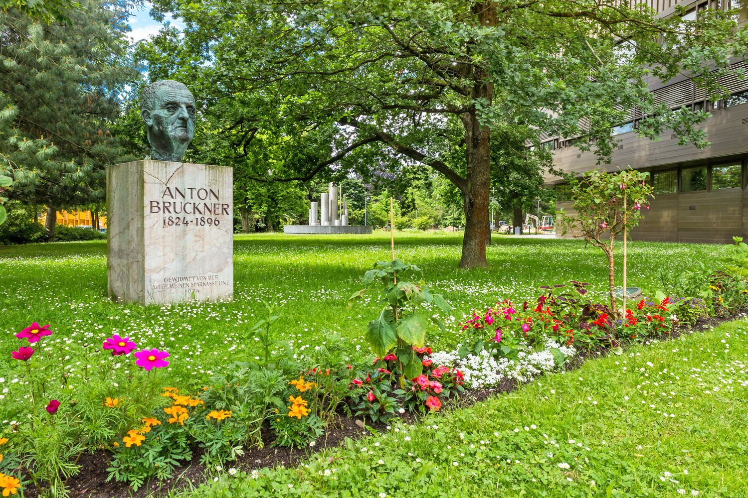 Anton Bruckner memorial in Linz © INTERKULTUR