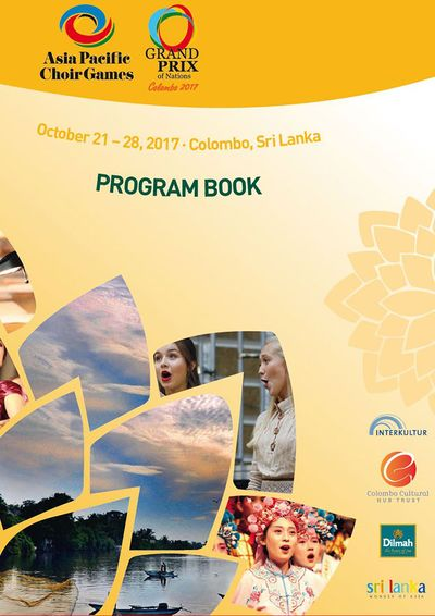 4th Asia Pacific Choir Games – Colombo: INTERKULTUR