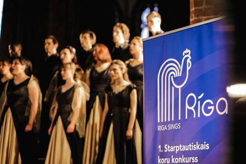 Choir performance at Riga Sings 2019 © KasTeKust