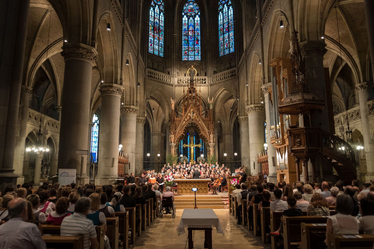 Opening Concert in New Linz Cathedral (Mariendom)