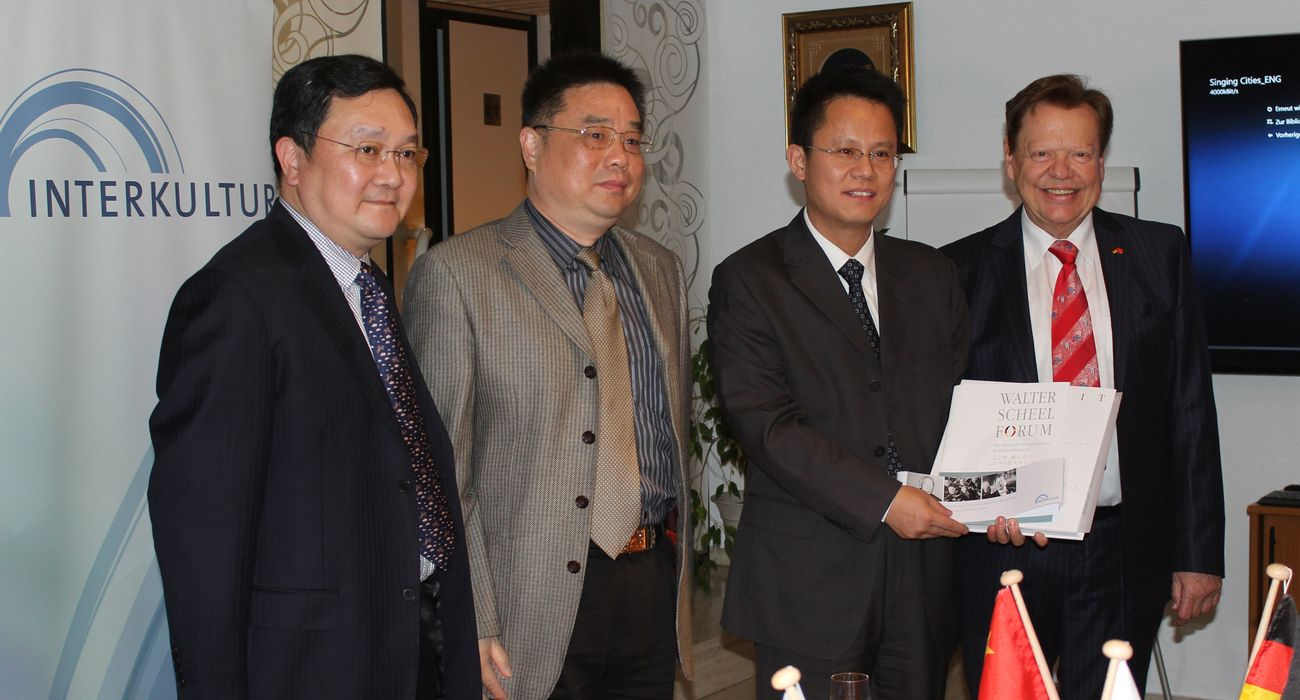 Chinese Delegation in Fernwald