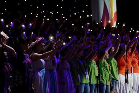 International Singers at the World Choir Games © Studi43