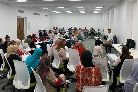 Conductor's seminar in Dubai © Nicol Matt