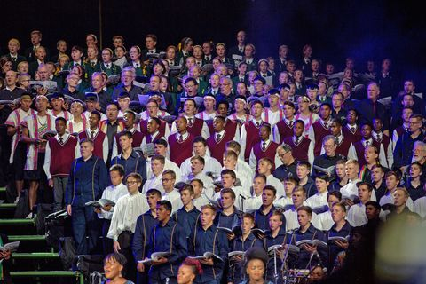Festival Stage Choir at World Choir Games 2018 © INTERKULTUR/Nolte Photography