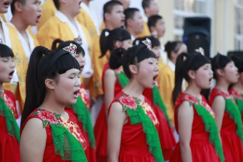 Changsha Dream of Wings Blind Children Choir © studi43