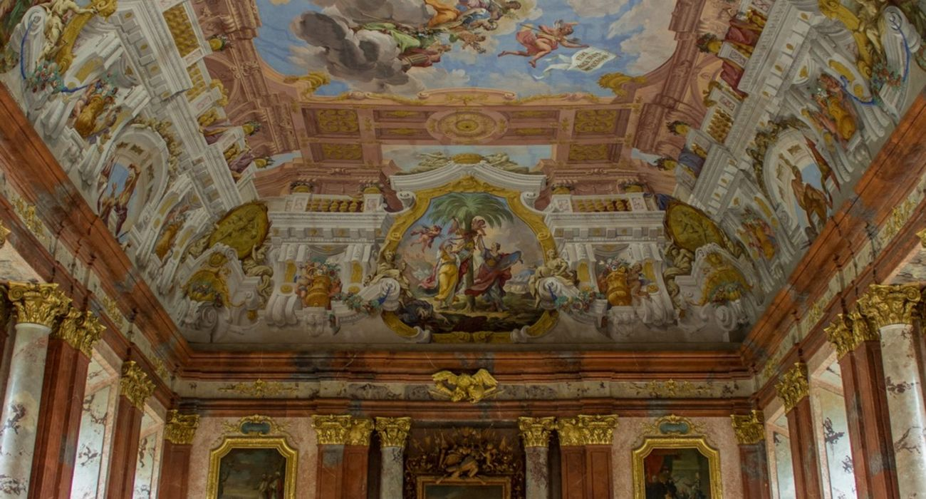 Ceiling of the marble hall © INTERKULTUR