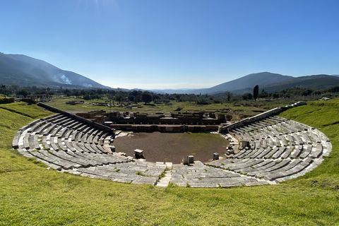 Ancient amphitheater in Messene