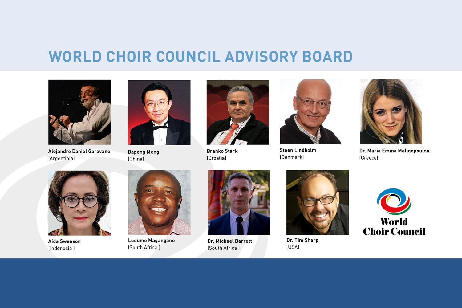 World Choir Council Advisory Board © INTERKULTUR