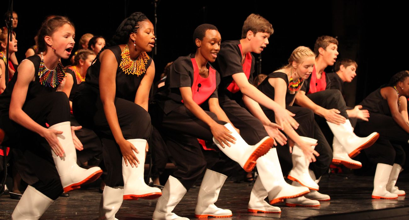 Kearsney College Choir from South Africa performing in Folklore category © Studi43