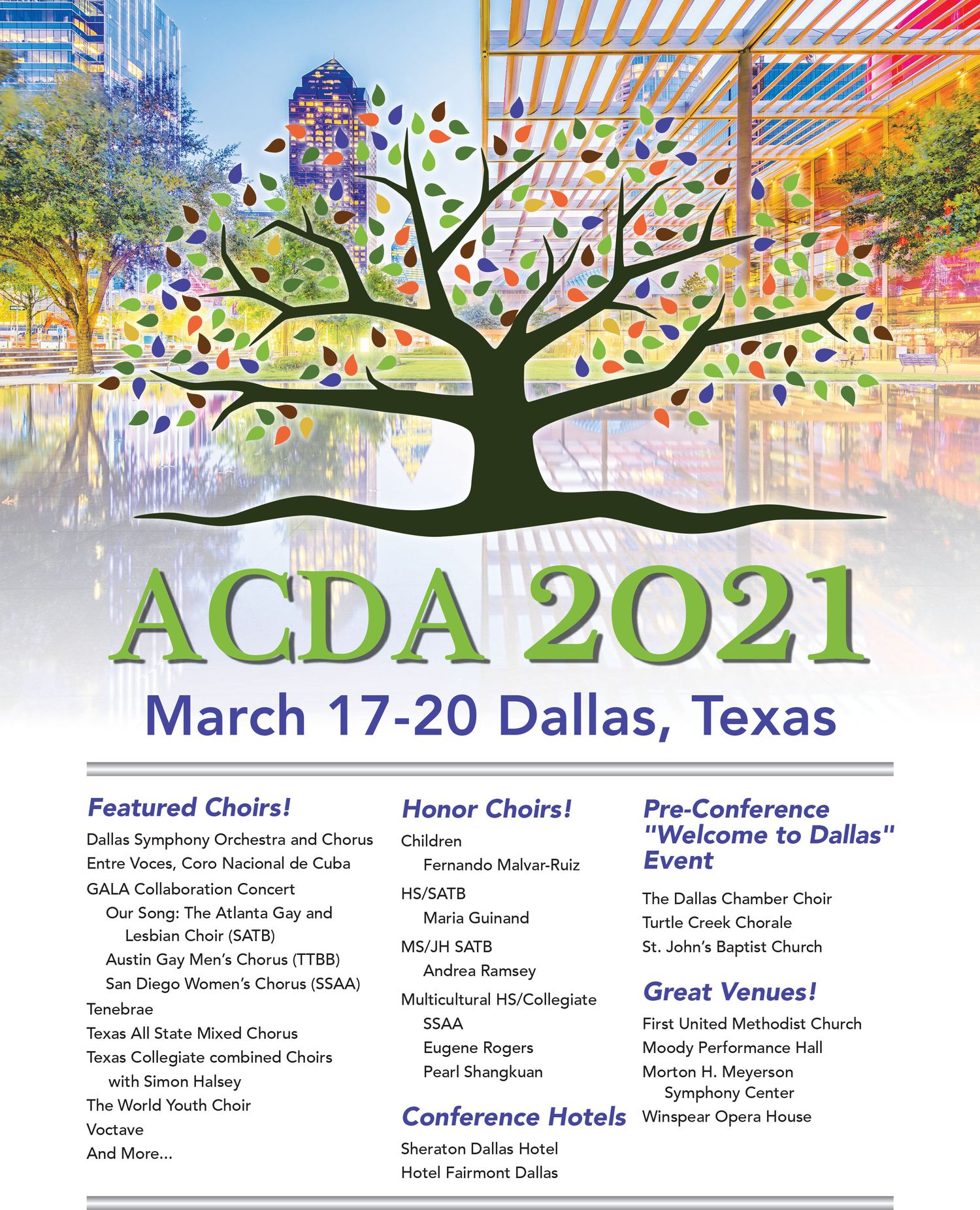 ACDA conference 2021