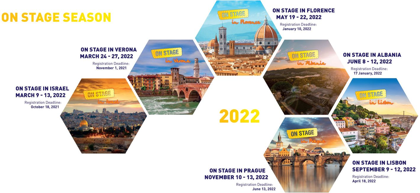 © On STAGE 2022 Event Calendar