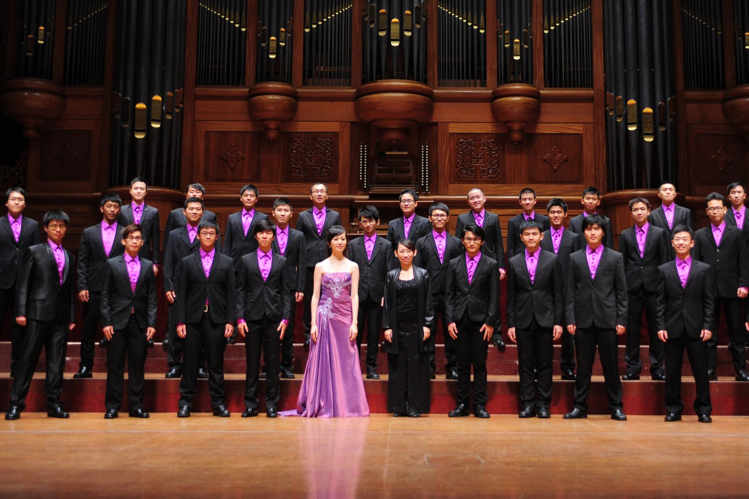 Winner of Johannes Brahms Choir Prize: The Müller Chamber Choir (Chinese Taipei)