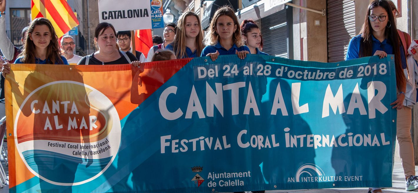 Parade of Choirs through Calella © INTERKULTUR