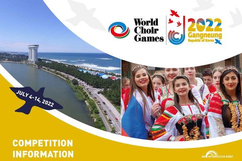 World Choir Games 2020_Competition Information_Cover © INTERKULTUR