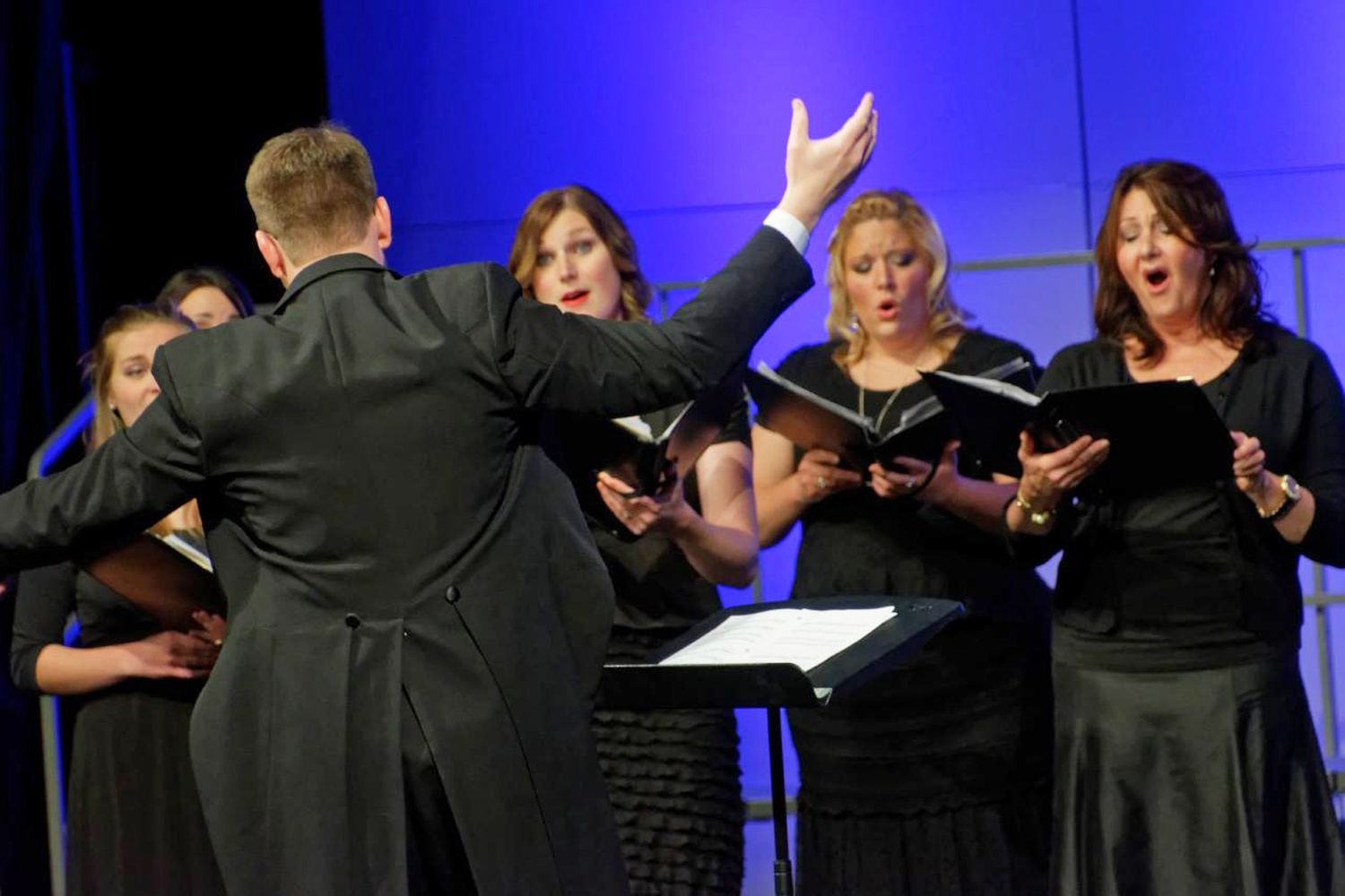 Performance of a choir in Provo