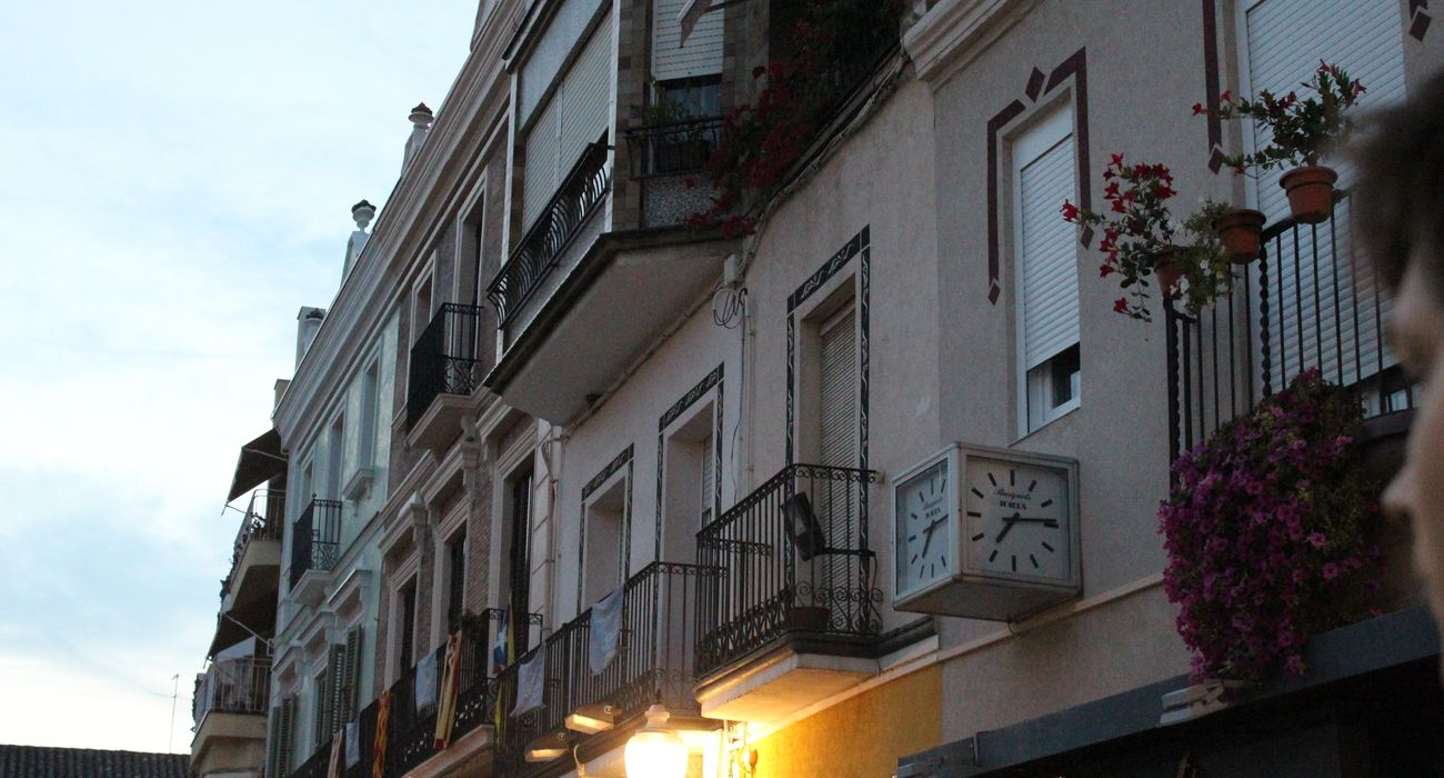 Buildings in Calella