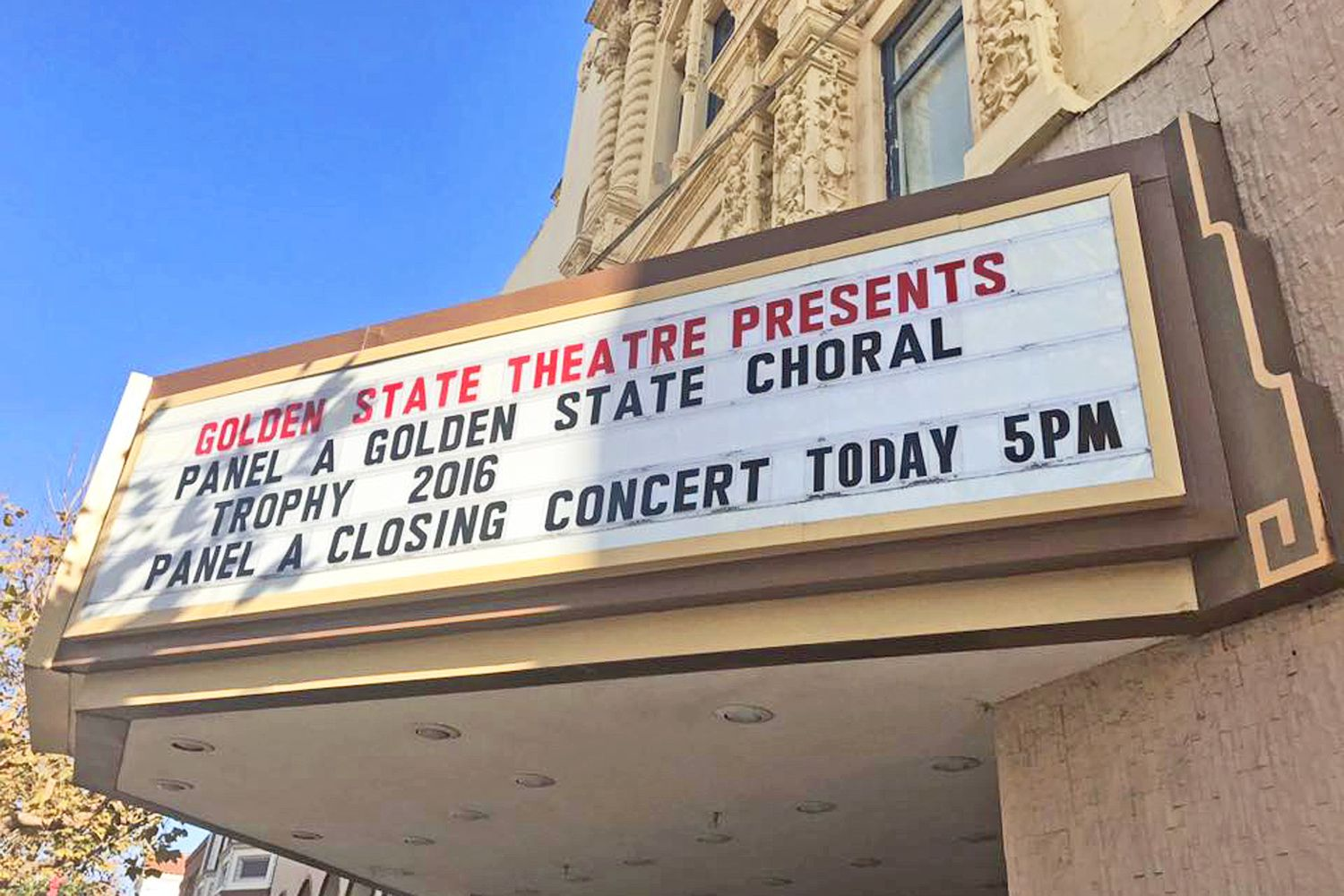Golden State University >> East Central University Chorale Wins The Golden State Choral
